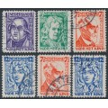 NETHERLANDS - 1928 Voor het Kind set of 6, used – NVPH # 220-223