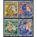 NETHERLANDS - 1932 Voor het Kind set of 4, used – NVPH # 248-251