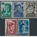 NETHERLANDS - 1951 Voor het Kind set of 5, used – NVPH # 573-577