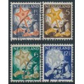 NETHERLANDS - 1933 Voor het Kind set of 4, used – NVPH # 261-264