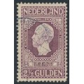 NETHERLANDS - 1913 2½G violet Jubilee, perf. 11½:11, used – NVPH # 99A