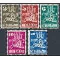 NETHERLANDS - 1950 Church Rebuilding Fund set of 5, MNH – NVPH # 556-560