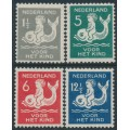 NETHERLANDS - 1929 Voor het Kind set of 4, mint hinged – NVPH # 225-228