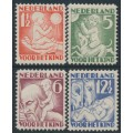 NETHERLANDS - 1930 Voor het Kind set of 4, mint hinged – NVPH # 232-235