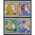 NETHERLANDS - 1932 Voor het Kind set of 4, mint hinged – NVPH # 248-251
