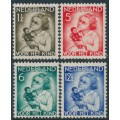 NETHERLANDS - 1934 Voor het Kind set of 4, mint hinged – NVPH # 270-273