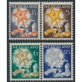 NETHERLANDS - 1933 Voor het Kind set of 4, mint hinged – NVPH # 261-264
