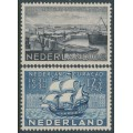 NETHERLANDS - 1934 6c & 12½c Curaçao Anniversary set of 2, MH – NVPH # 267-268