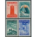 NETHERLANDS - 1933 Seamen's Fund Charity set of 4, MH – NVPH # 257-260