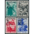 NETHERLANDS - 1932 Tourism Propaganda (ANVV) set of 4, mint hinged – NVPH # 244-247