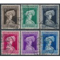 LUXEMBOURG - 1936 Children's Charity set of 6, used – Michel # 296-301