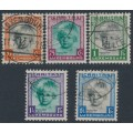 LUXEMBOURG - 1931 Children's Charity set of 5, used – Michel # 240-244
