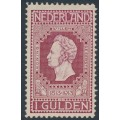 NETHERLANDS - 1913 1G purple-red Jubilee, perf. 11½:11½, MH – NVPH # 98B