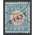 NETHERLANDS - 1910 3c on 1Gld light blue/red Postage Due, type III, used – NVPH # P27III