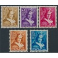 LUXEMBOURG - 1933 Children's Charity set of 5, MH – Michel # 252-256