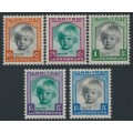 LUXEMBOURG - 1931 Children's Charity set of 5, MH – Michel # 240-244