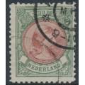 NETHERLANDS - 1896 5G bronze-green/red-brown Princess Wilhelmina, used – NVPH # 48