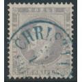 NORWAY - 1857 3Sk lilac-grey King Oscar I, used – Facit # 3a