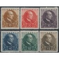 AUSTRIA - 1930 Sanitoriums in Carinthia set of 6, MH – Michel # 512-517