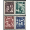 AUSTRIA - 1951 Post War Reconstruction set of 4, MNH – Michel # 960-963