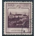 LIECHTENSTEIN - 1930 90Rp deep purple Kloster Schellenberg, used – Michel # 104