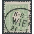 AUSTRIA - 1859 3Kr green Emperor Franz Joseph (type II), used – Michel # 12II