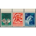 AUSTRIA - 1950 Kärnten (Carinthia) Referendum set of 3, MNH – Michel # 952-954