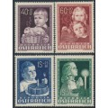 AUSTRIA - 1949 Children's Welfare set of 4, MNH – Michel # 929-932