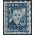 AUSTRIA - 1936 10S deep violet-ultramarine Engelbert Dollfuss, MH – Michel # 588