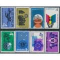 AUSTRALIA - 1966-1967 the eight different 4c commemoratives, MNH – SG # 406-413