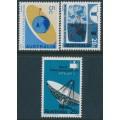 AUSTRALIA - 1968 Weather & Telecommunications set of 3, MNH – SG # 417-419