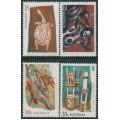 AUSTRALIA - 1971 Aboriginal Art set of 4, MNH – SG # 494-497