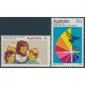 AUSTRALIA - 1972 Christmas set of 2, MNH – SG # 530-531