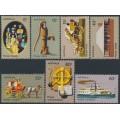 AUSTRALIA - 1972 Pioneer Life set of 7, MNH – SG # 523-529