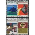 AUSTRALIA - 1973 National Development set of 4, MNH – SG # 541-544