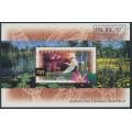 AUSTRALIA - 1997 $10 Kakadu Wetlands M/S overprinted Pacific '97, MNH – SG # MS1686a