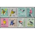 AUSTRALIA - 1966 5c to 30c Native Birds set of 8, MNH – SG # 386-387 + 392-397