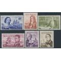 AUSTRALIA - 1966 40c to $4 Decimal Navigators set of 6, MNH – SG # 398-403