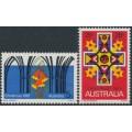 AUSTRALIA - 1967 Christmas set of 2, MNH – SG # 415-416