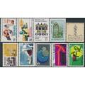 AUSTRALIA - 1968-1970 the ten 5c Commemoratives, MNH – SG # ex. 426-458