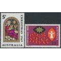 AUSTRALIA - 1969 Christmas set of 2, MNH – SG # 444-445