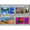 AUSTRALIA - 1970 7c to 10c National Development set of 4, MNH – SG # 469-472