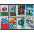 AUSTRALIA - 1970-1971 the eight 6c Commemoratives, MNH – SG # 473-476 + 486-489