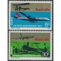 AUSTRALIA - 1970 QANTAS set of 2, MNH – SG # 477-478