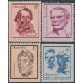 AUSTRALIA - 1970 Famous Australians set of 4, MNH – SG # 479-482