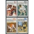 AUSTRALIA - 1971 RSPCA & Animals set of 4, MNH – SG # 490-493