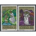 AUSTRALIA - 1973 Christmas set of 2, MNH – SG # 554-555