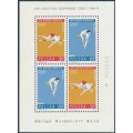 POLAND - 1964 Tokyo Olympic Games M/S, MNH – Michel # Block 34