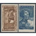 POLAND - 1953 Copernicus set of 2, MNH – Michel # 805-806