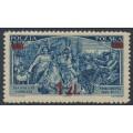 POLAND - 1934 1Zł on 1.20Zł violet-blue Liberation of Vienna, MH – Michel # 293I